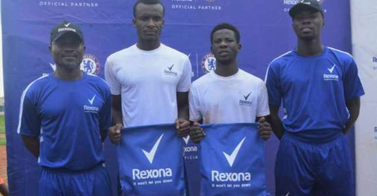 Laryea Kingston Urges Young Talents To Prove Their Worth After