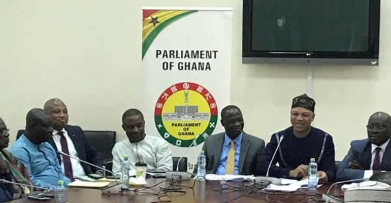 Ranking Member on the Mines and Energy Committee, Adam Mutawakilu, addressed the press.