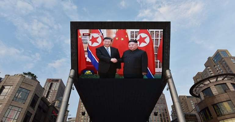 GREG BAKER / AFP