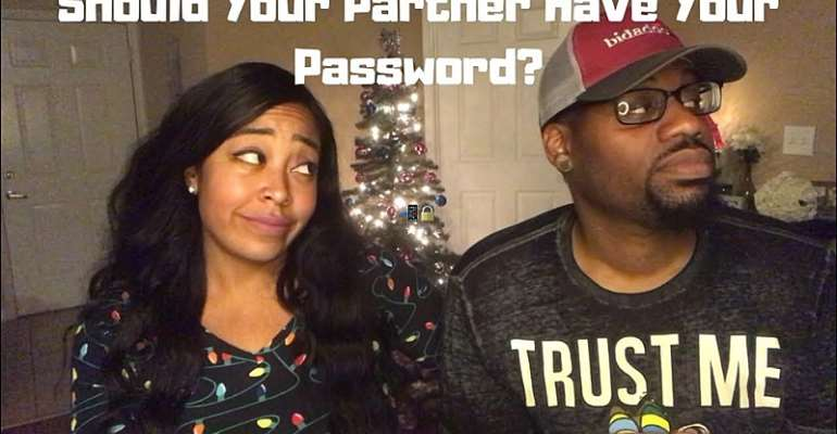 Should your partner have access to your password?