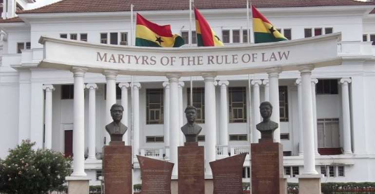 File photo of the Supreme Court of Ghana