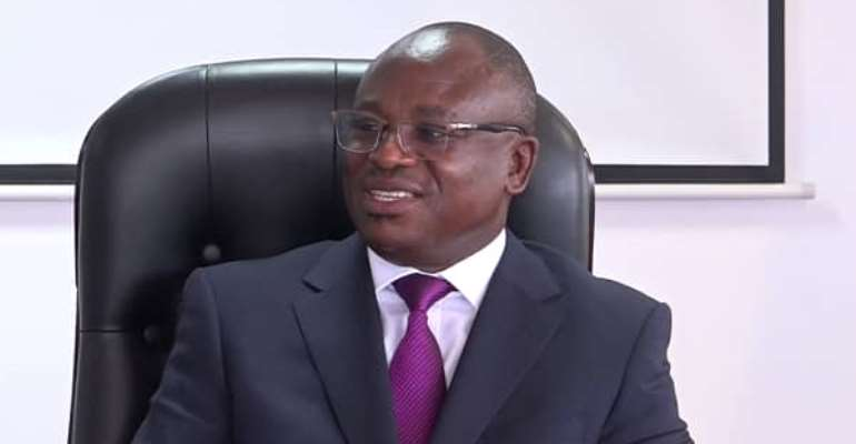 Technical adviser to the Minister of Transport, Mr. Paul Asare Ansah