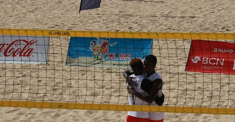 Ghana Excels In Beach Volleyball At SAL 2019