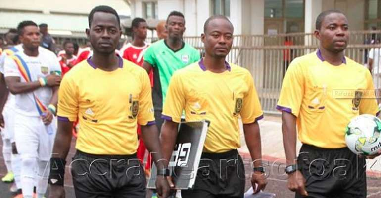 NC Special Cup: Referee Abdul-Latif Adaari To Officiate Kotoko v Karela Final on Sunday
