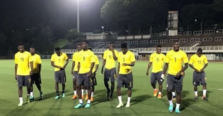 AFCON 2019: Ghana Wraps Up Training In Dubai; Set To Move To Egypt Today