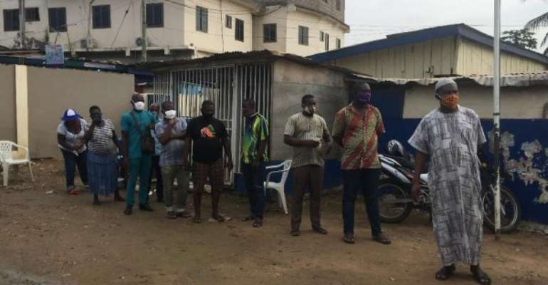 NPP Primaries: Voting Underway At OkaiKwei North