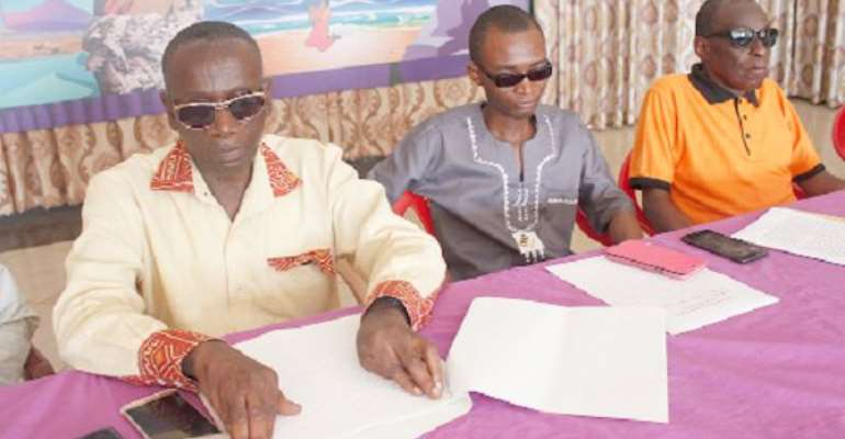 Blind Learners Call For Special Attention From Government To Face COVID-19