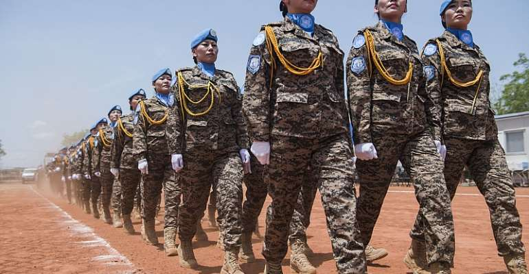 """""""Female Peacekeepers Inspire Women And Girls"""""""