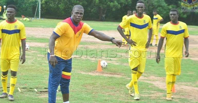 PHOTOS: Hearts of Oak Returns To Training