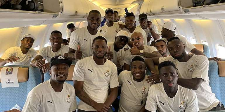 AFCON 2019: Black Stars Off Egypt Ahead Of AFCON