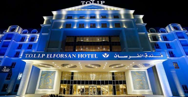 AFCON 2019: Black Stars To Lodge At Tolip Forsan Island Hotel & Resort In Ismailia