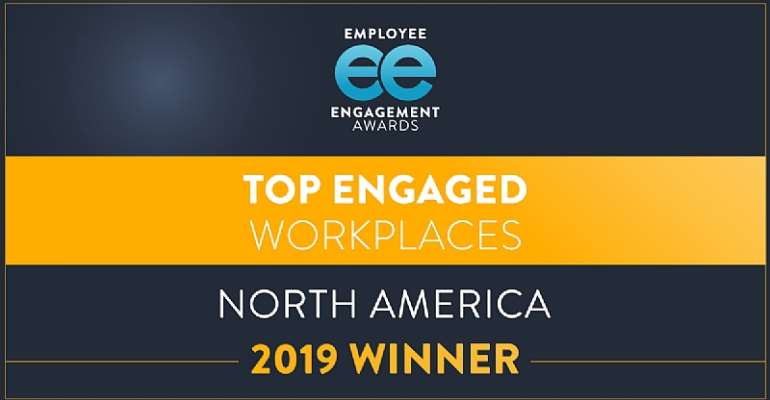 Atos, Etsy, Cisco, Events DC, TCG And T-Mobile Honoured At 2019 North American Employee Engagement Awards