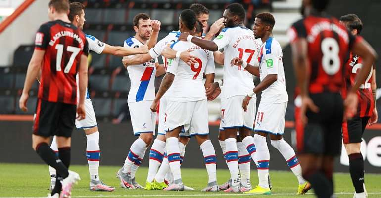 Jordan Ayew finds scoring boot with sublime goal for Crystal Palace
