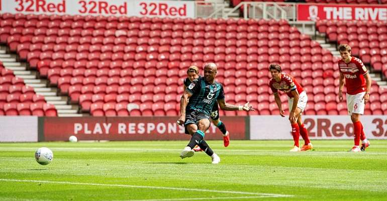 VIDEO: Watch André Ayew's Goal Plus Assist In Swansea's Big Win Against Middlesbrough