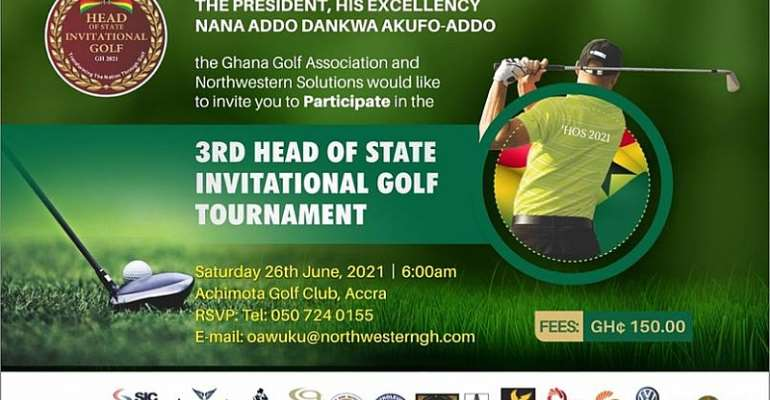 Third Head Of State invitational Golf tournament is here at last