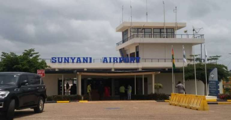 Works at Sunyani Airport abandoned again as government fails to pay contractor