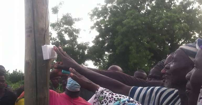 Government extends electricity to seven communities in Savannah Region