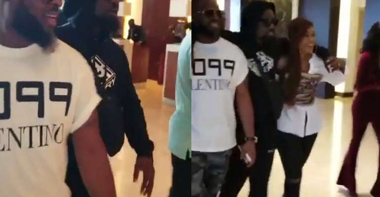 Sarkodie secretly returns to Ghana with face covered but fans recognised him