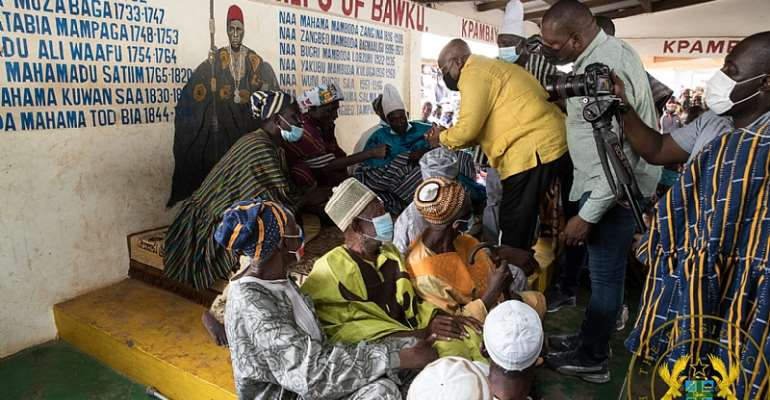 """""""Ghana lucky to have you as president in covid-19 era"""" – Mamprusi Elders tell Akufo-Addo"""