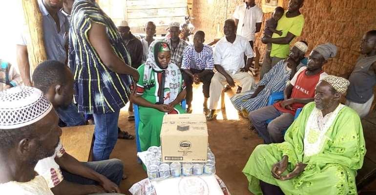 Kintampo South MP Donates To Muslim Communities
