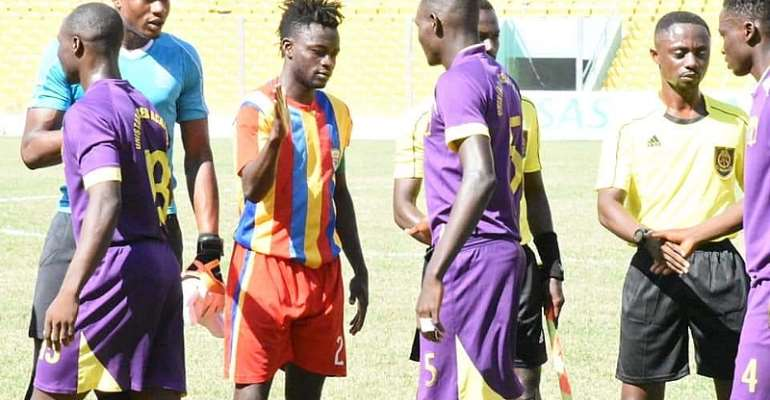 SHOCKING: UniStar Defeat Hearts On Penalties to Advance Into Quarter-Finals Of Special Competition