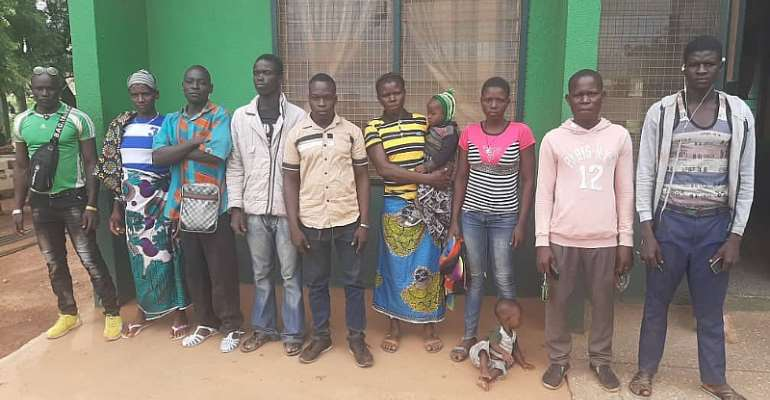 Upper West: 13 Burkinabes Turned Back For Entering Ghana Illegally