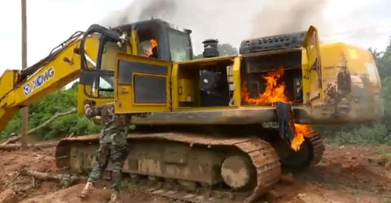 Galamsey fight: No excavator is worth more than our water bodies, forests – NPP Germany