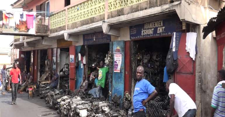 Our presentplace has outlived its usefulness, we made a request to be relocated – Abossey Okai spare parts dealers