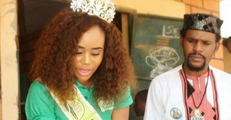 MBMN International Queen Christy Daniel Shoes Away Diseases For Dutse Primary School (photos)