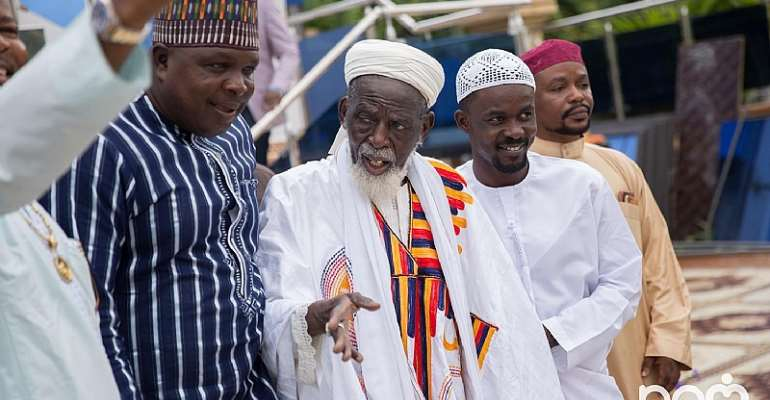 Zylofon's Nana Appiah Mensah Gives GHC1million For Chief Imam Educational Fund