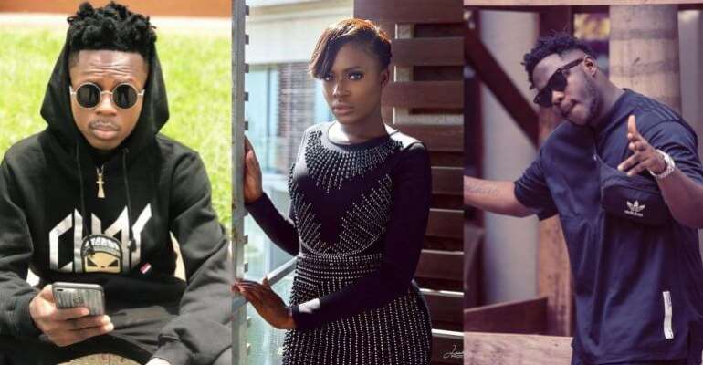Fella Makafui Reacts To Strongman's Diss Song To Medikal
