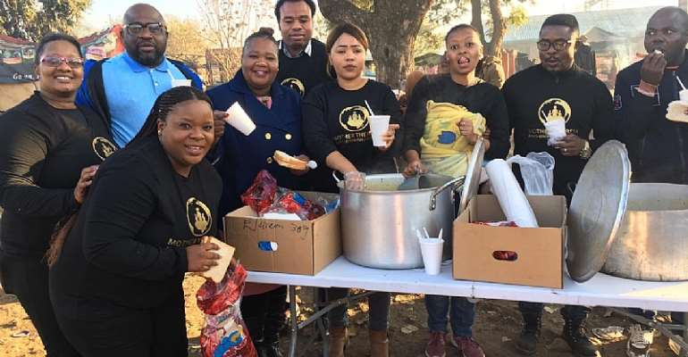 MTAG Global Visits Displaced, Homeless Persons In South Africa