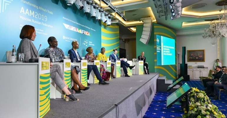 Afreximbank Transforming Africa's Trade, Shakes Moscow