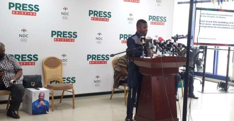 NDC Will Provide Free Technical, Vocational Education — Sammy Gyamfi