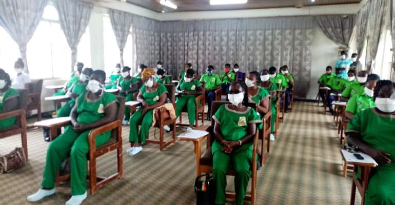 Schools Support Program:32 People Recruited In Obuasi Under YEA