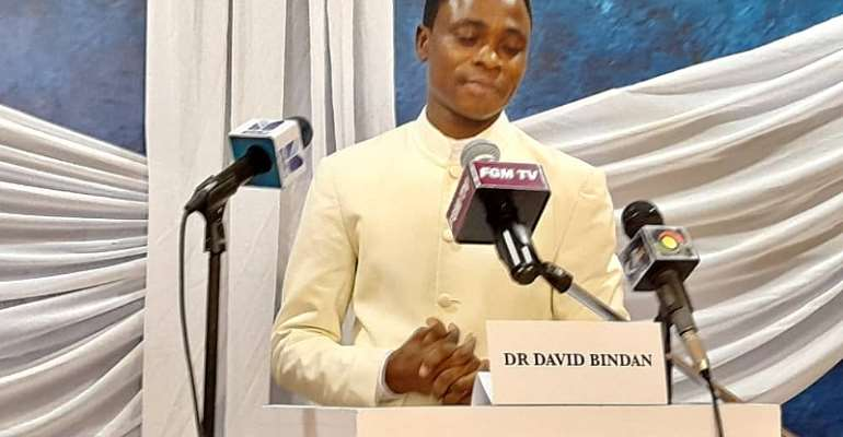 President of Final Global Government (FGM), Dr David Bindan