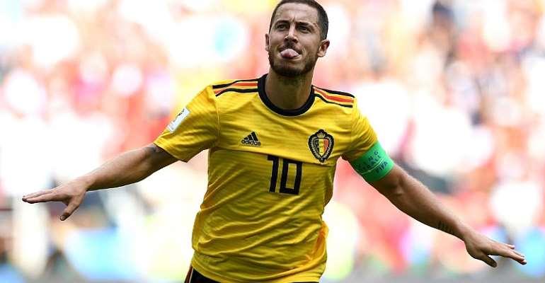 2018 World Cup:Hazard And Lukaku Put Belgium On Verge Of Last 16
