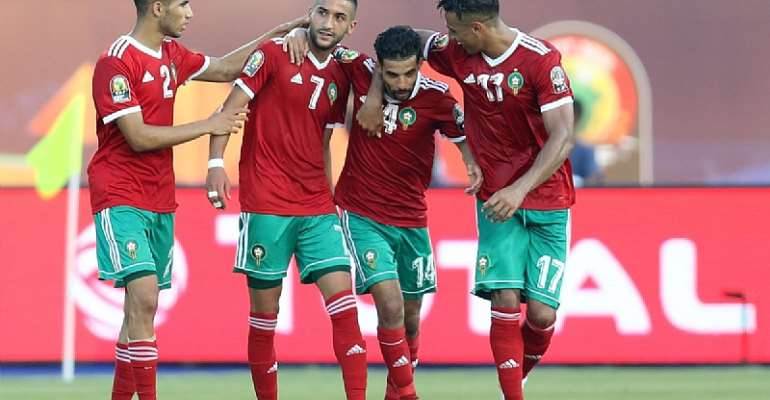 AFCON 2019: Morocco Defeats Namibia 1-0 In Group D Opener