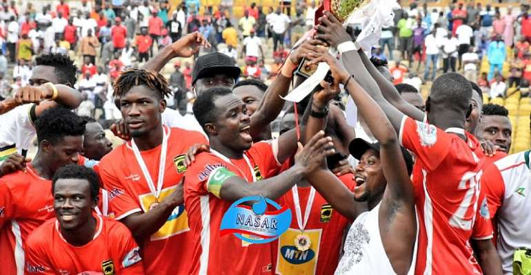 NC Special Competition: Asante Kotoko Beat Karela United On Penalties To Win Tier 1 Trophy