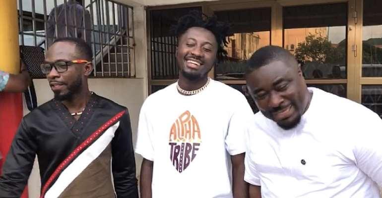 Akyeame reunites to endorse Amerado