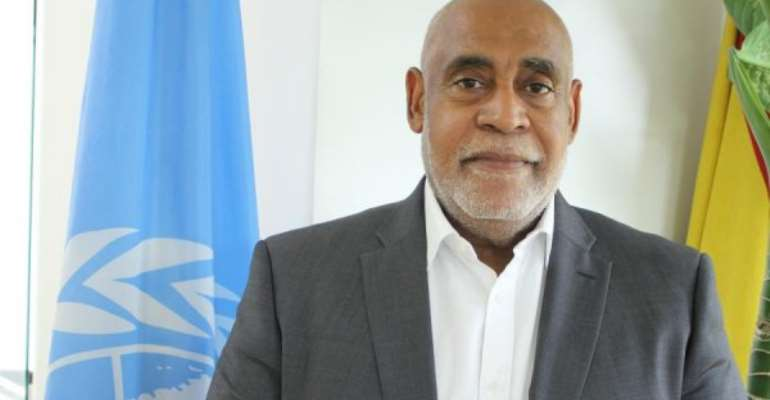 New UNDP Resident Coordinator Mr Charles Abani Assumes Office