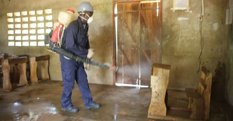 Gov't Commended For Disinfecting Basic Schools In Savannah Region