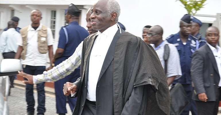 Will you also report Tsatsu to GLC as you did against Dominic Ayine? – Kwaku Asare to CJ