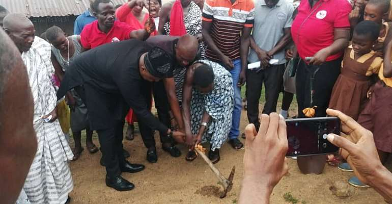 Cape North MP supports construction of ICT Centre for Essuekyir Basic school