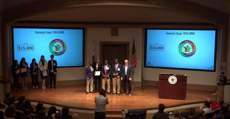 HCC Students Win Global Award In USA