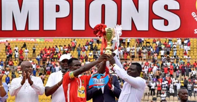 Kotoko Secures Qualification To Play In CAF Champions League Next Season