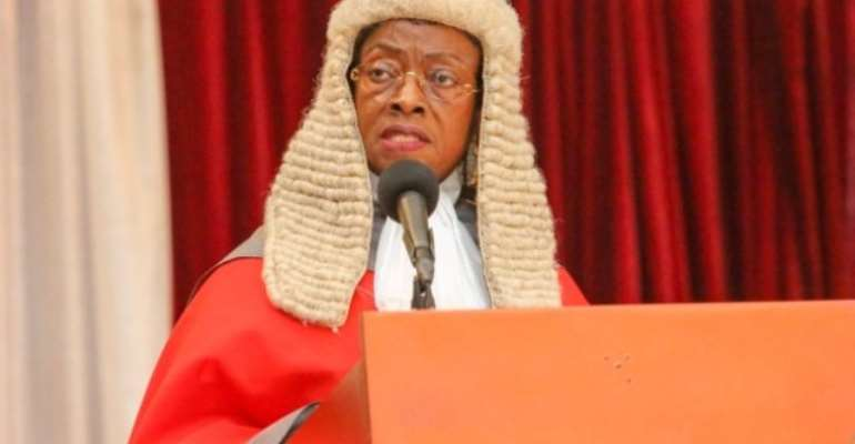 The court was presided over by the Chief Justice, Justice Sophia Akuffo