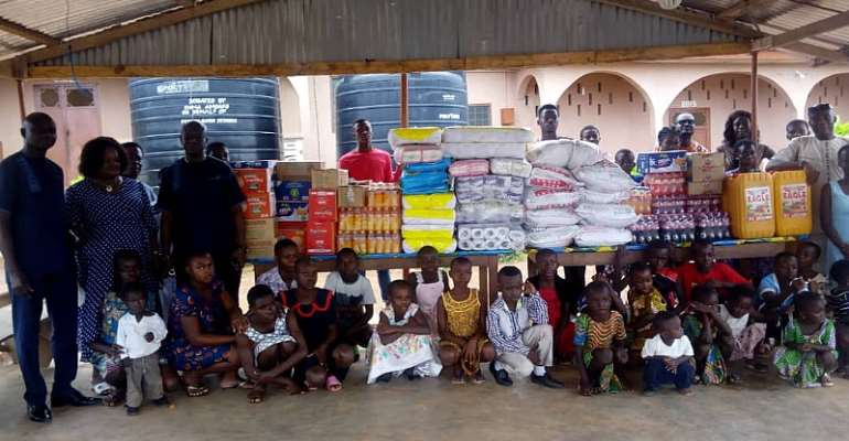 Blessed Children's Home Gets Helping Hand From GEOYAN Enterprise