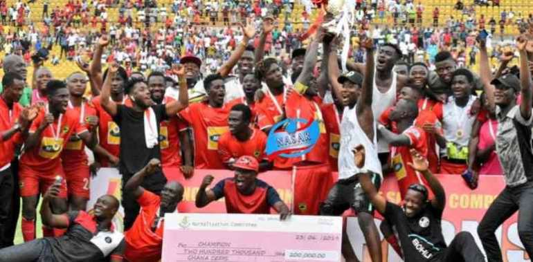 NC Special Cup: Asante Kotoko Pocket GHS200,000 For Clinching Tier I Title