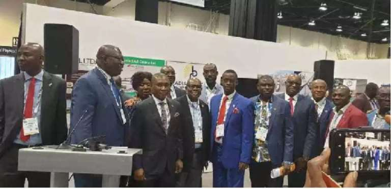 Egbert Faibille Heads Delegation To 2019 Global Petroleum Show In Canada